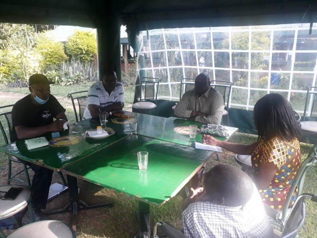 Josa officials meeting